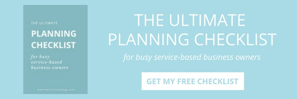 Free Ultimate Planning Checklist