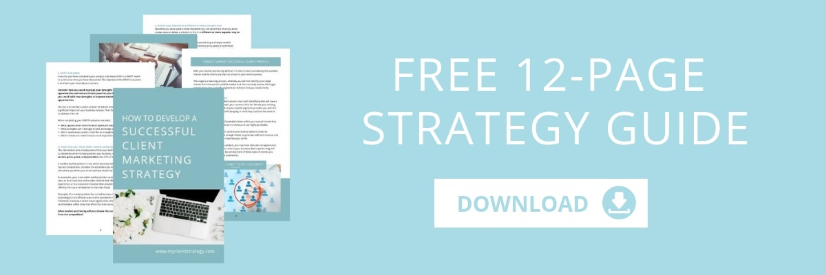 Free 12 Page Client Marketing Strategy Guide