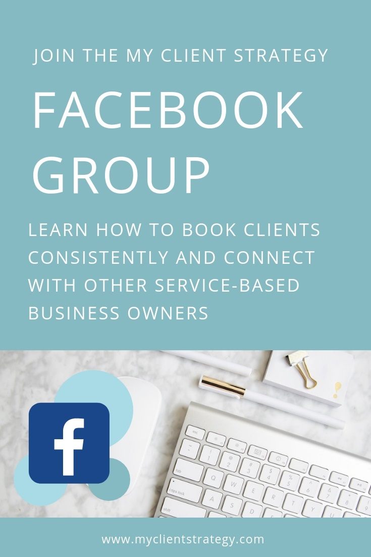 My Client Strategy Facebook Group