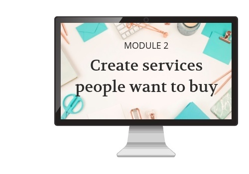 Creating services people want to buy