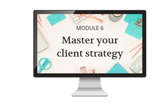 Master your client strategy