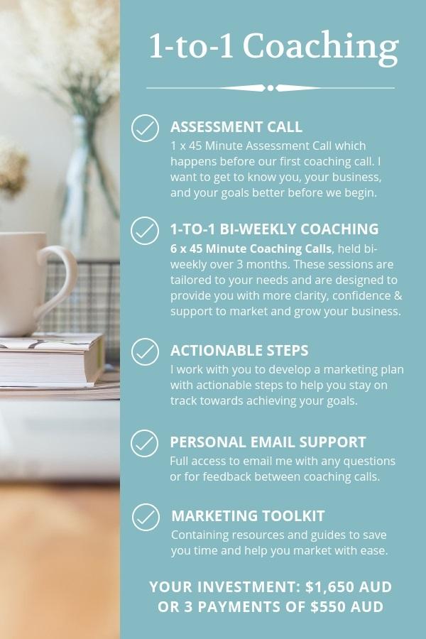 1-to-1 Business Coaching