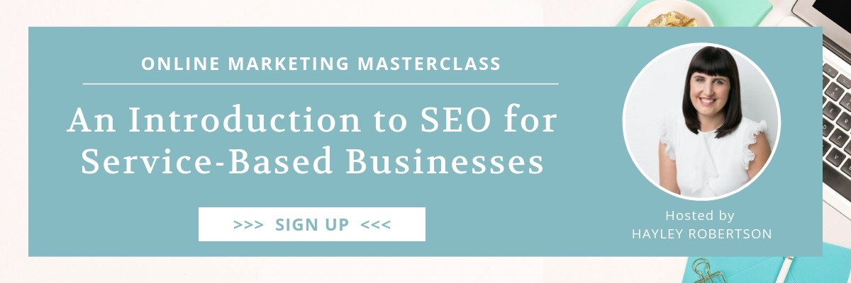 SEO Masterclass Training
