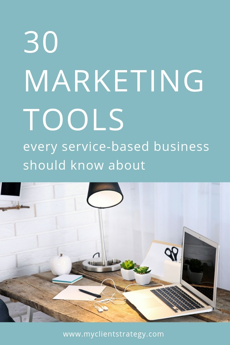 Marketing tools service based businesses