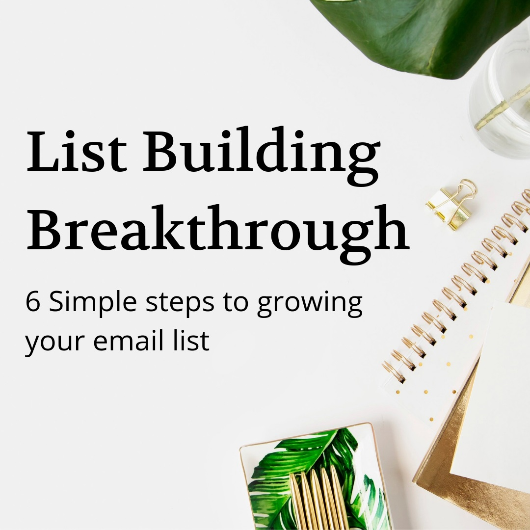 List Building Breakthrough Training