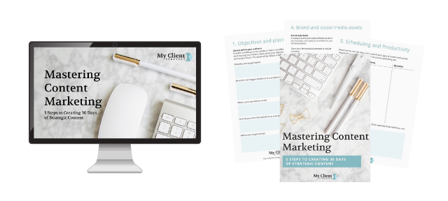 Content Marketing Training and Workbook