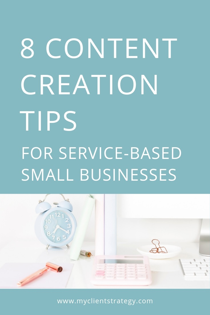 Content creation tips for small business