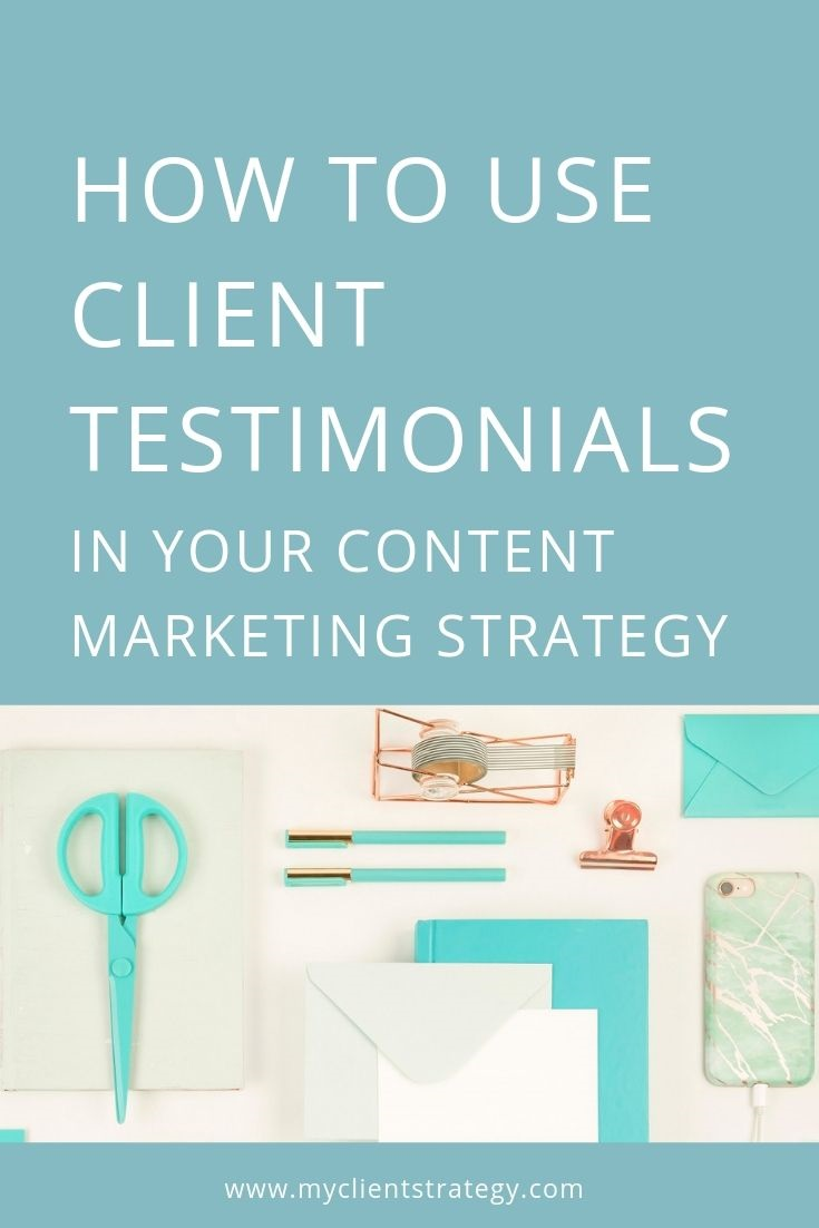 How to use client testimonials