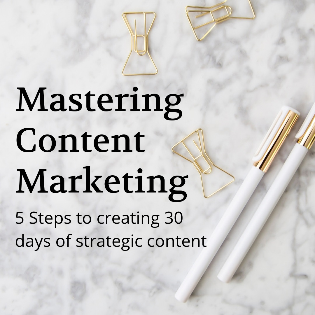 Mastering Content Marketing Training