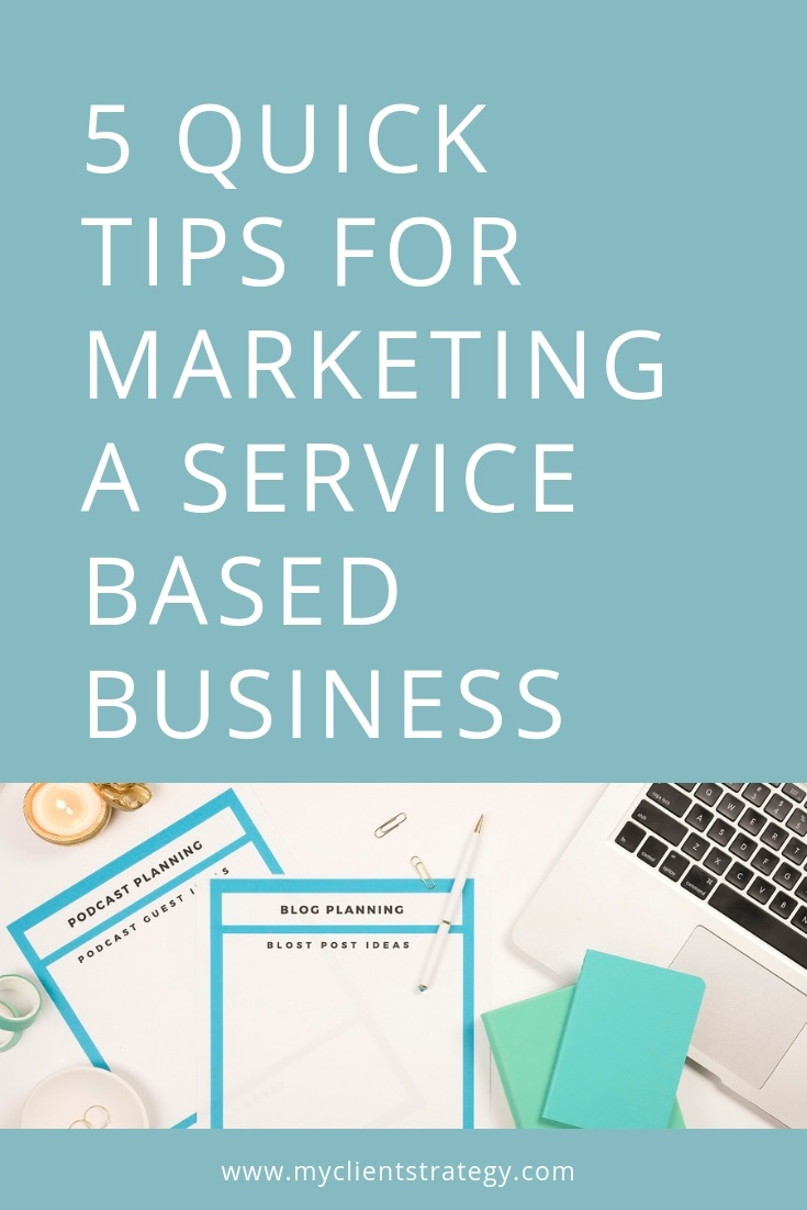 marketing a service based business