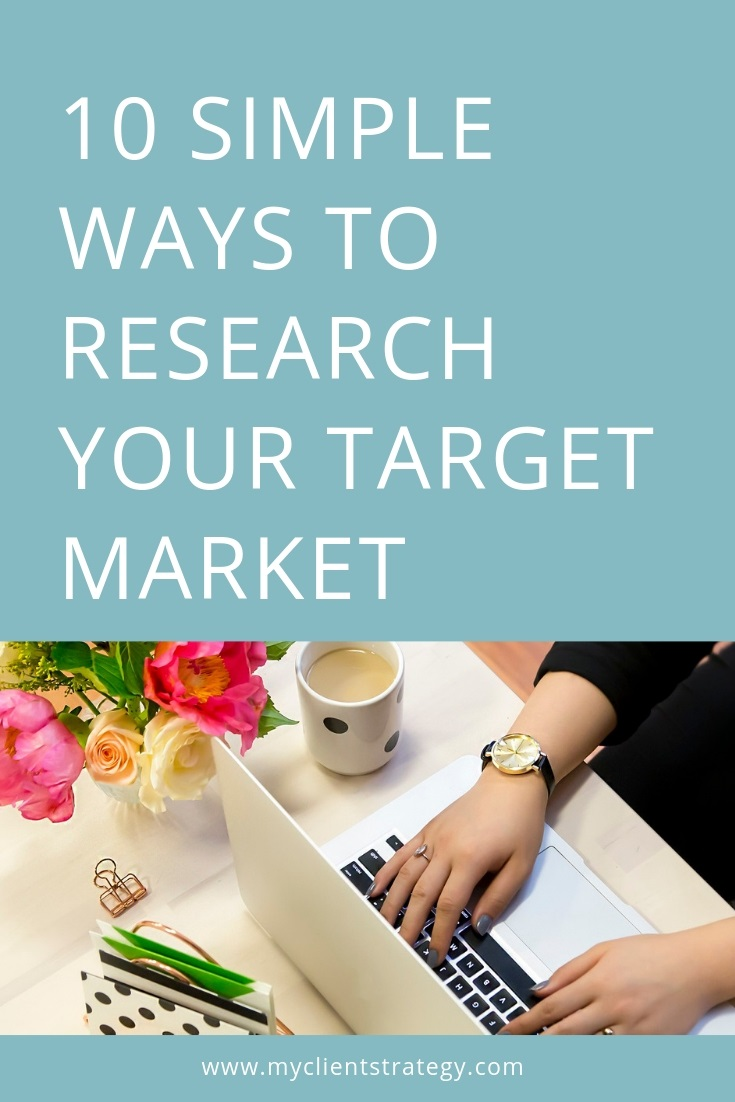 How to research your target market