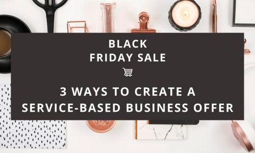 3 Ways to create a Black Friday offer