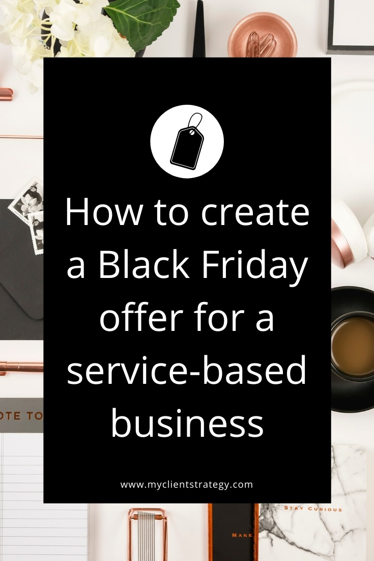 black friday marketing for service based businesses