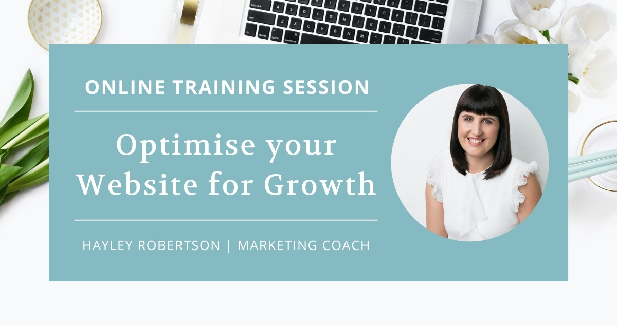 optimise your website online training