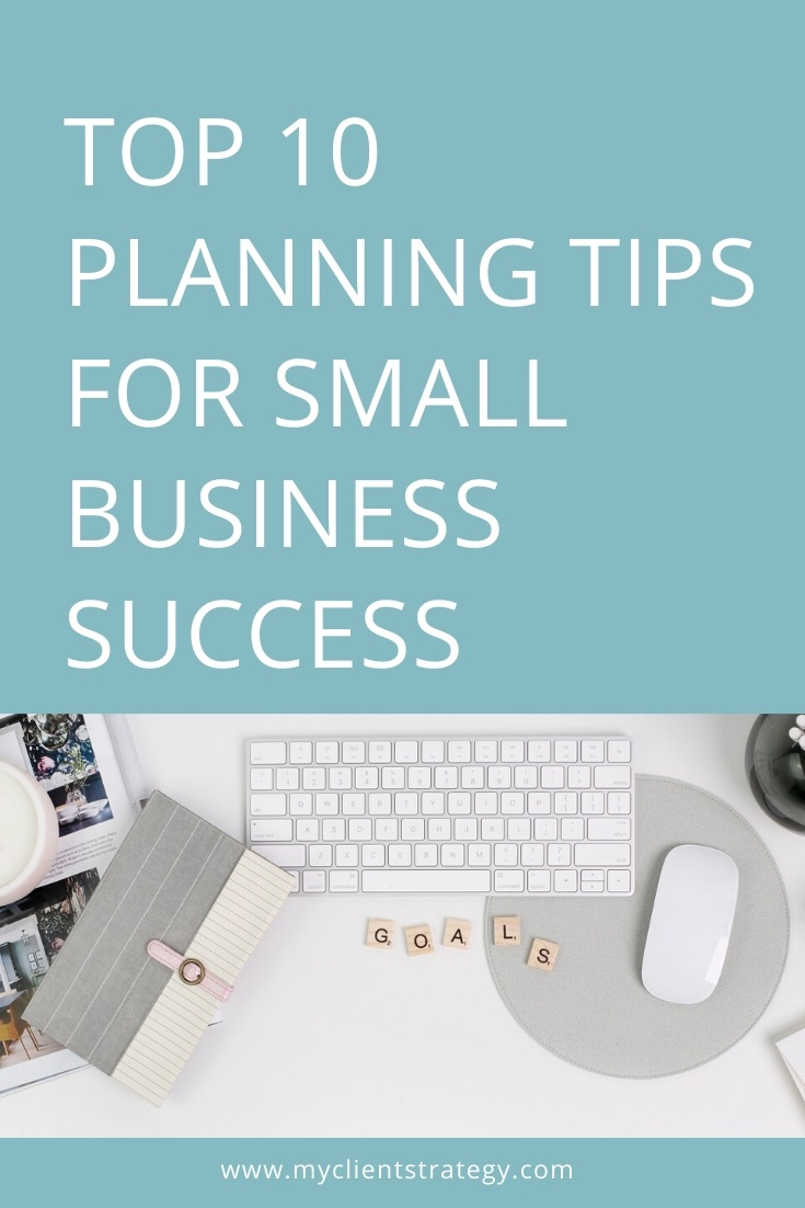 top 10 planning tips for small business success