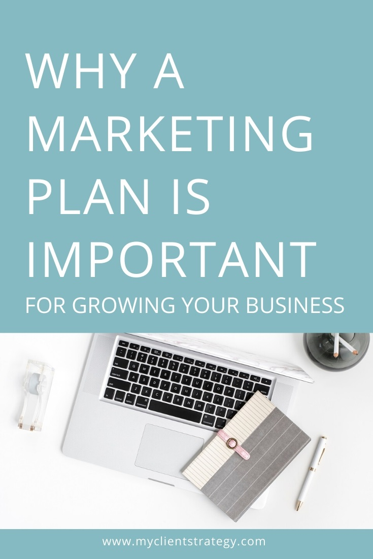 why a marketing plan is important for growing your business
