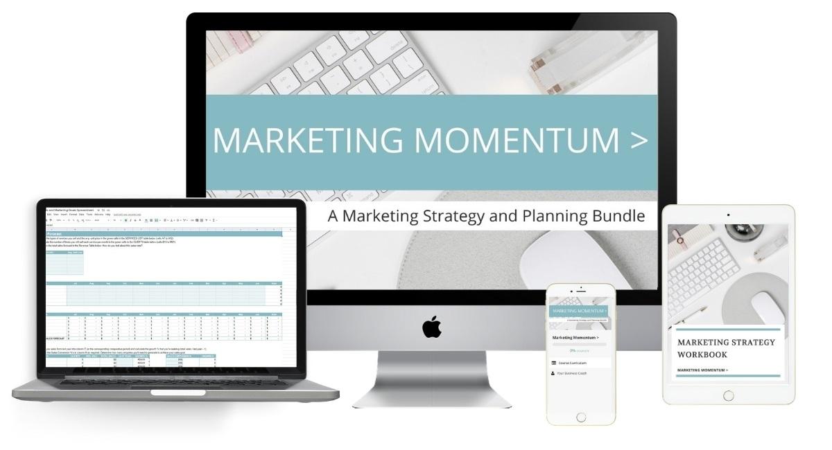 Marketing Momentum Training Bundle Image