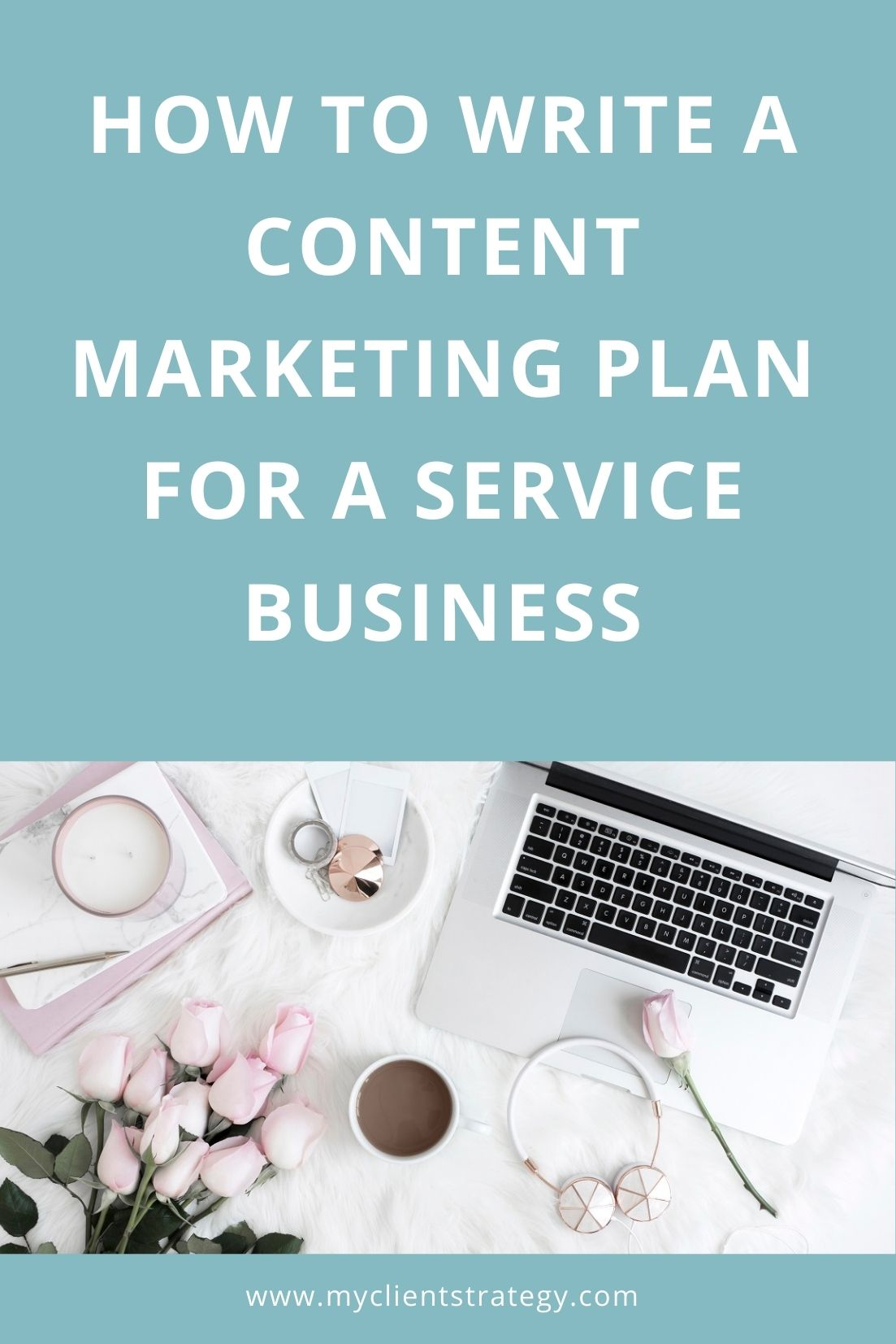content marketing plan for a service business