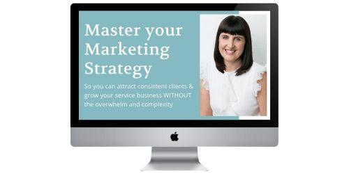 Master your Marketing Strategy Free Masterclass