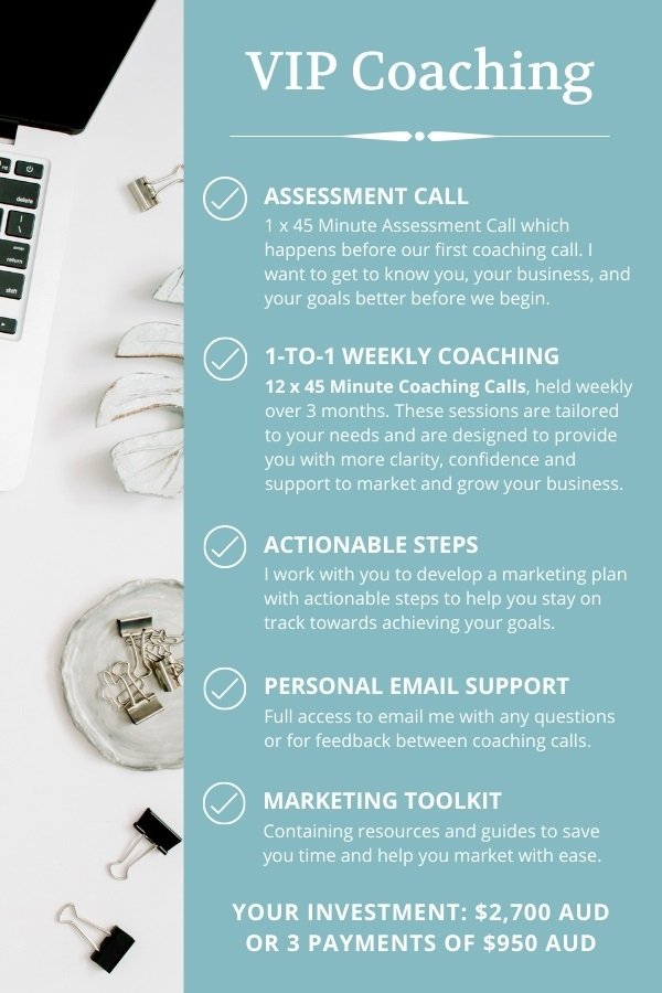 VIP Marketing Coaching
